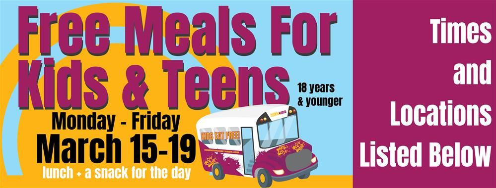 Food Meals for Kids and Teens