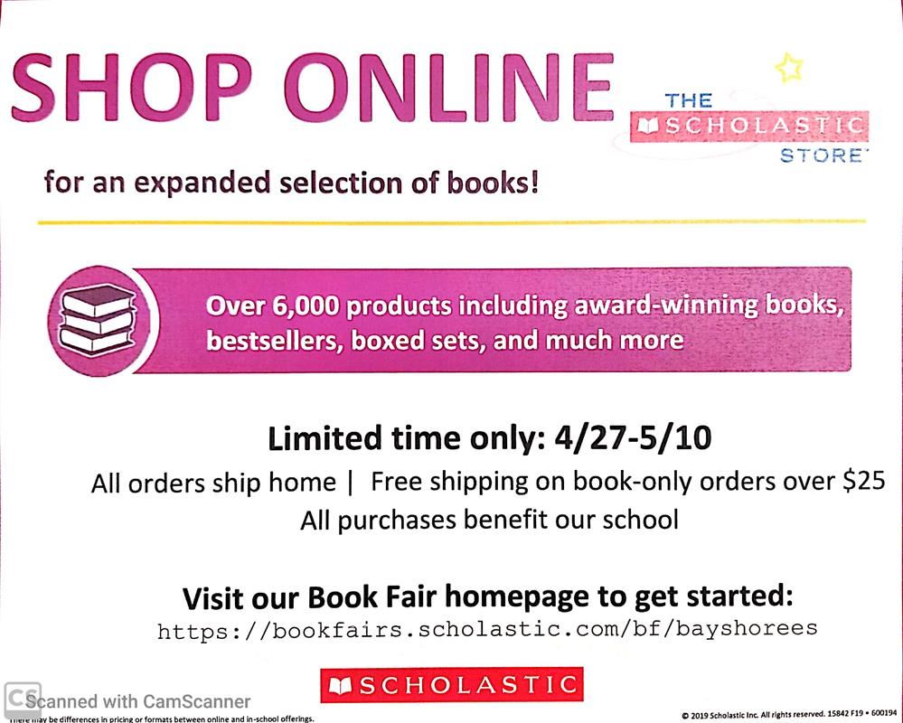 Our Online Bookfair
