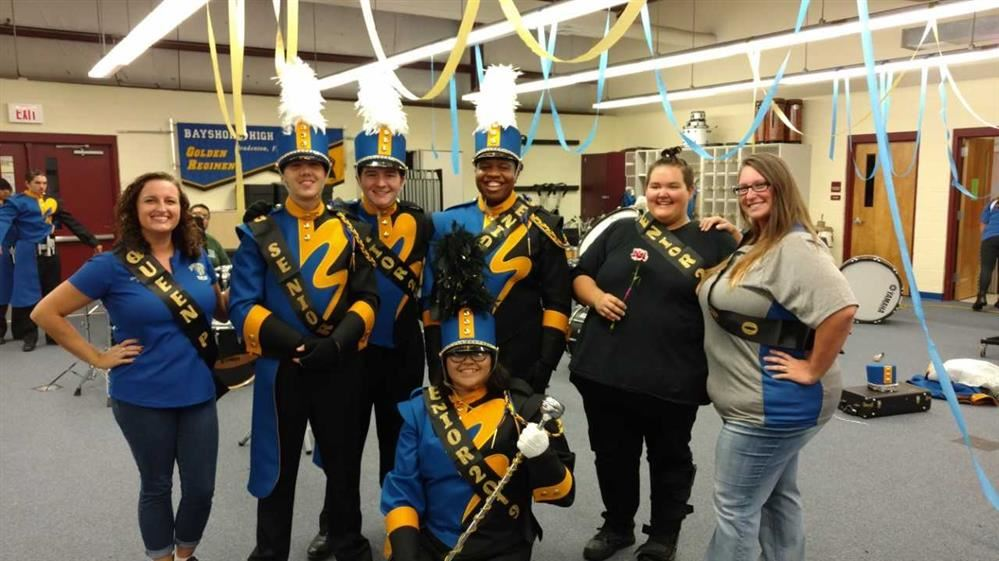 Marching Band Ends Season on a High Note