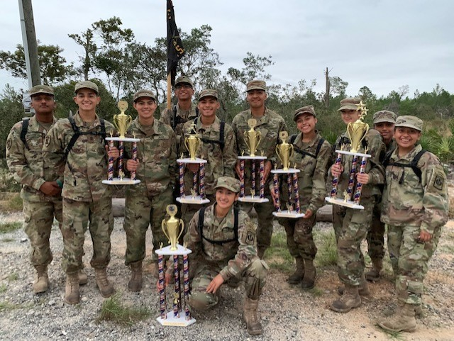 BHS JROTC STATE CHAMPS