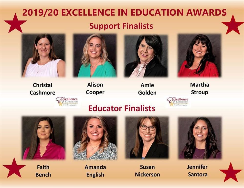 AMANDA ENGLISH MANATEE COUNTY TEACHER OF THE YEAR NOMINEE FINALIST
