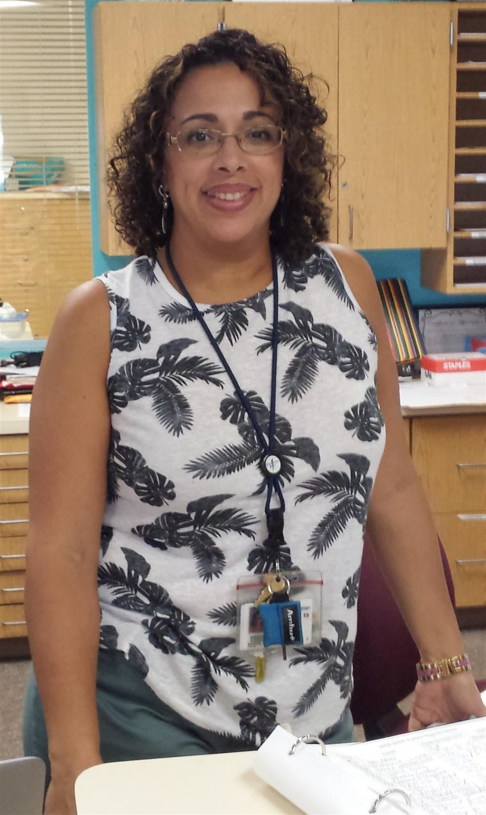 Blackburn's Support Staff of the Year, Mrs. Raquel Gonzalez