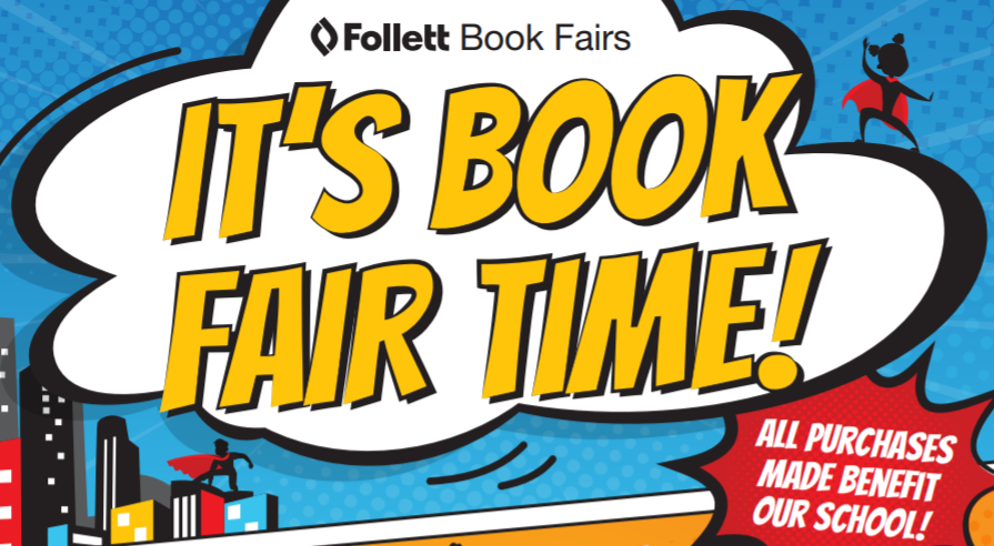 Book Fair is Here!!!