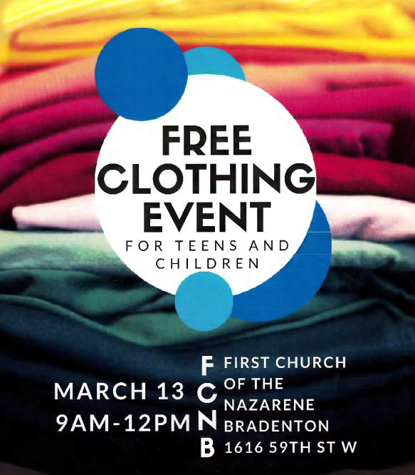 Free Clothing Event