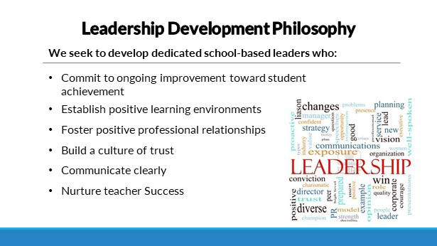 Leadership Development Philosophy graphic
