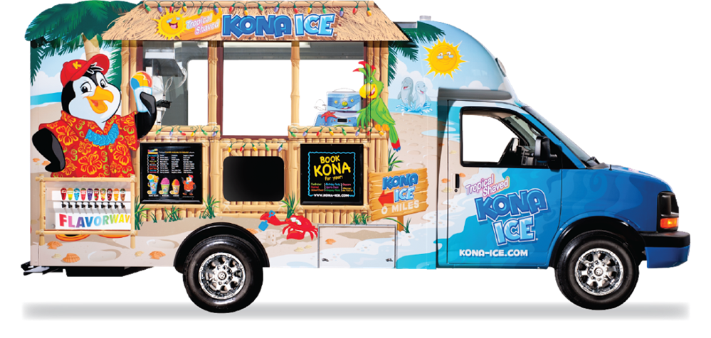Kona Ice-Bronze Partner