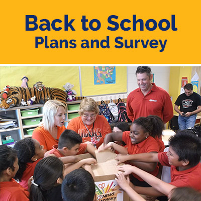 Back to School Plans and Survey