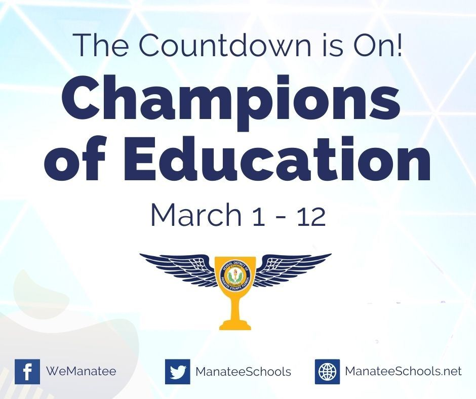 We are Champions of Education