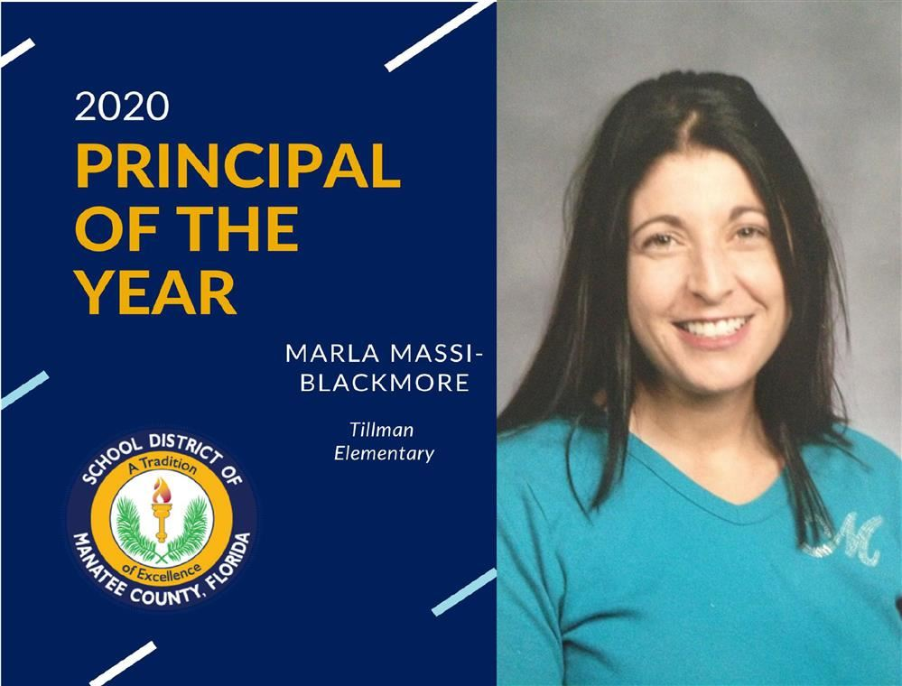 Mrs. Massi-Blackmore is Principal of the Year