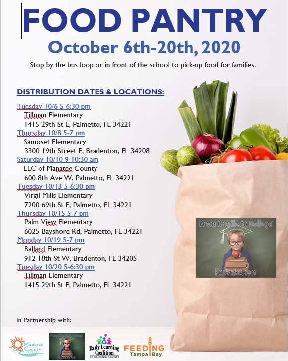 October Meals 6th - 20th