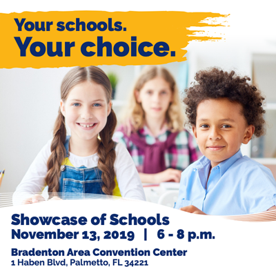 Click for information on Showcase of Schools: Your Schools. Your Choice.