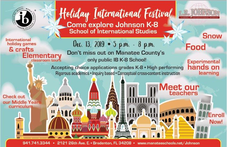 Holiday International Festival - Fri., Dec. 13