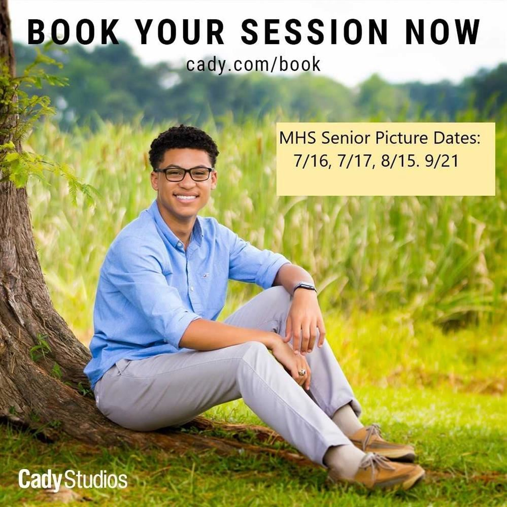 Senior Photos for the Class of 2020 - deadline is October 18th!