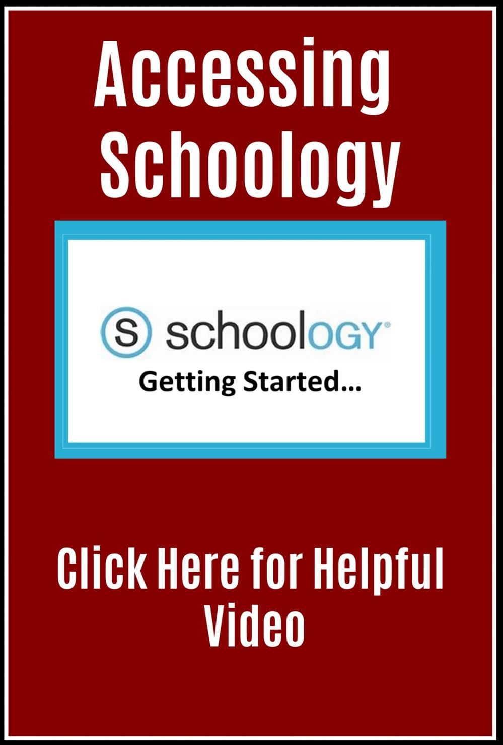 Accessing Schoology