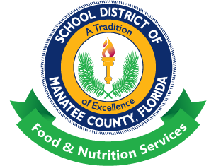 School District of Manatee County Food Nutrition Services logo
